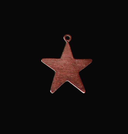 ciondolo in rame a forma di stella, regalo per papà, per mamma, per insegnante, per maestra