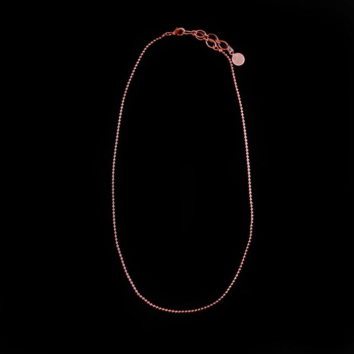 collana in rame per medaglioni e ciondoli