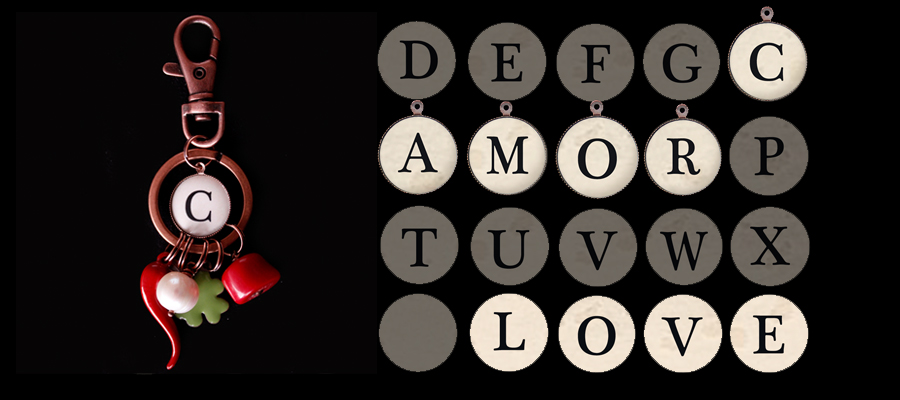 Iniziali - Ciondoli Collezione Alfabeto, per completare la tua collana o il tuo bracciale con un tocco personale. Indossa il tuo nome o quelle delle persone che ami, o quello della tua parola preferita
