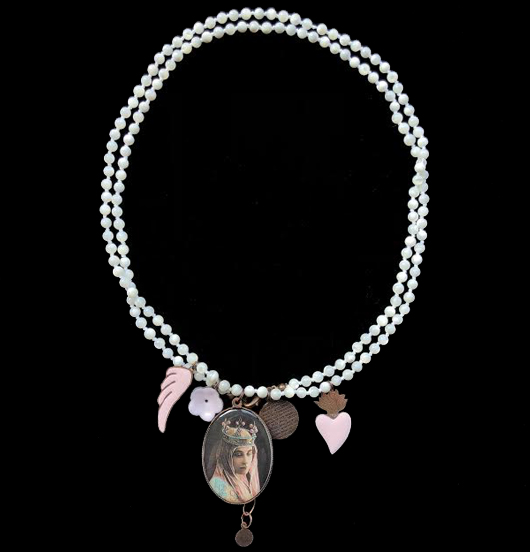 COLLANA SACRO PINK TOUCH